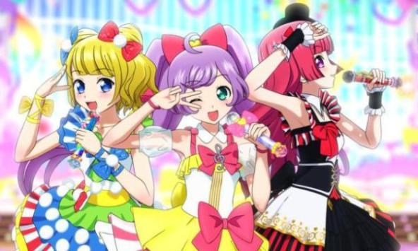 um anime muito colorido